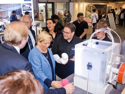 3D Druck Bildungsmesse 2019 Kultusministerin Eisenmann
